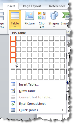 how to keep a table going through pages